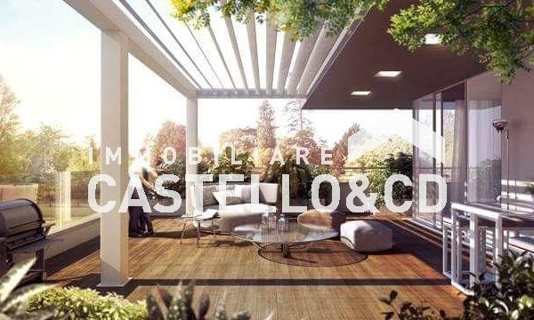 Trilocali in villa con giardino