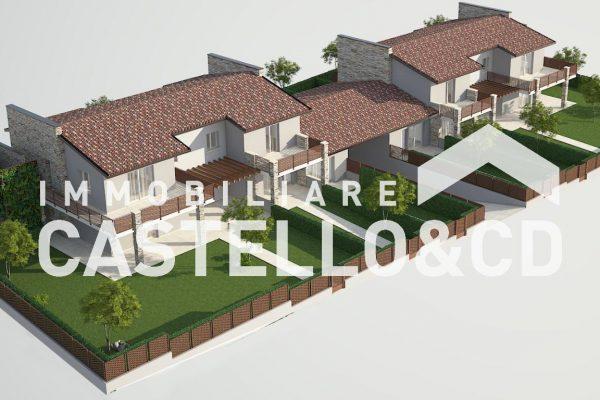 Nuova Villa a Schiera Vicino al Centro
